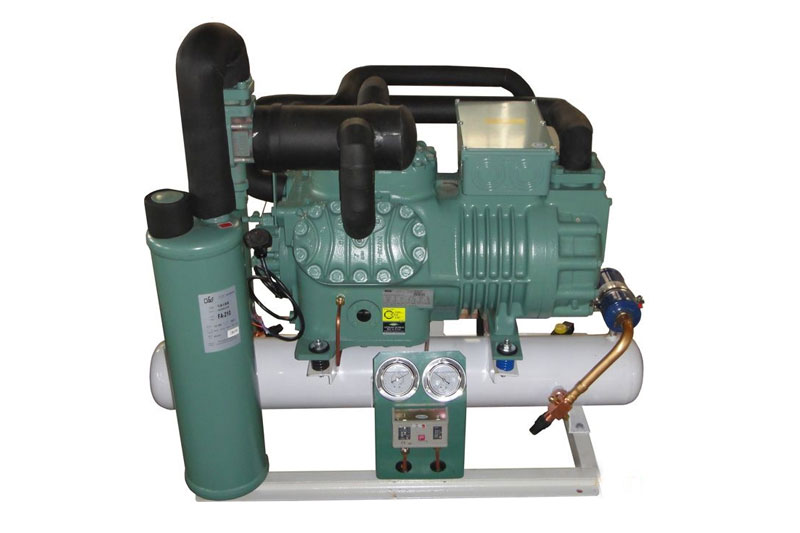 比泽尔半封闭低噪音冷凝机组-制冷压缩机-常州冷库-板